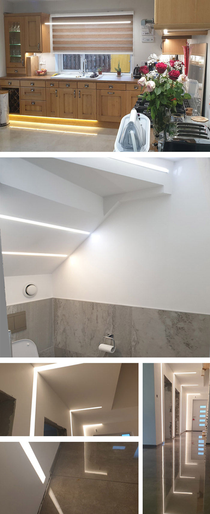 LED Light Projects selector